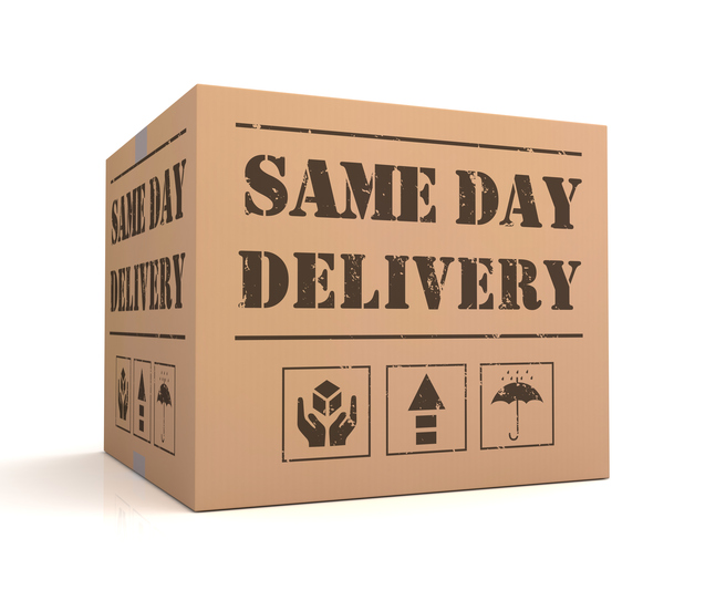 same day delivery insurance
